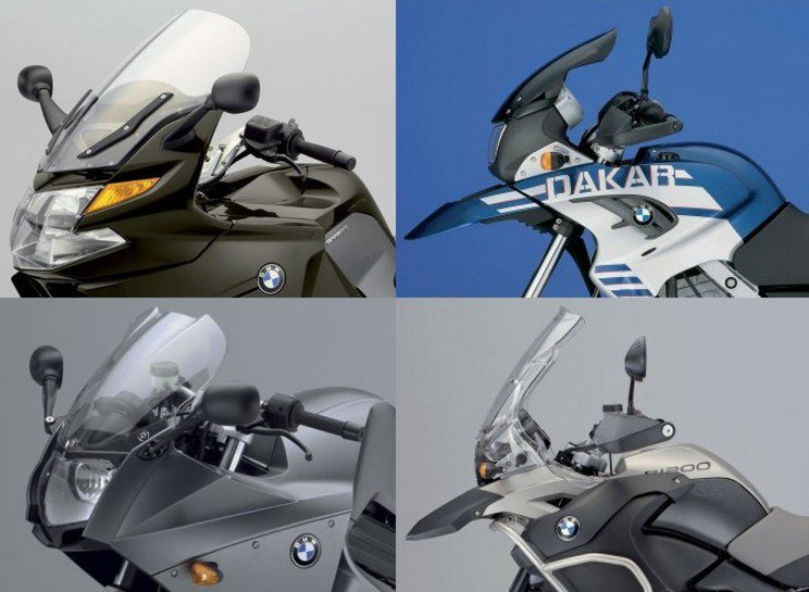Puig 0810 Touring Screens BMW R 1100 S (03-05) Červená (R)