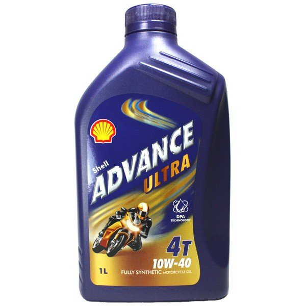 Shell Advance Ultra 4T 10W-40, 1 l