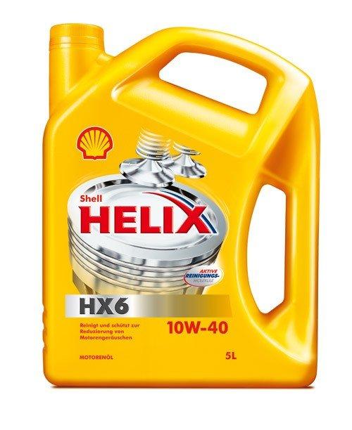 Shell HELIX HX6 10W-40, 5 l