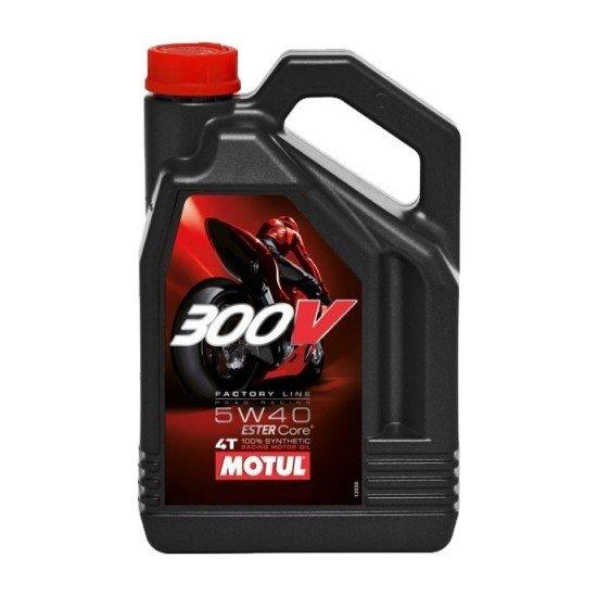 Motul 300V 4T Factory Line 5W-40, 4 l