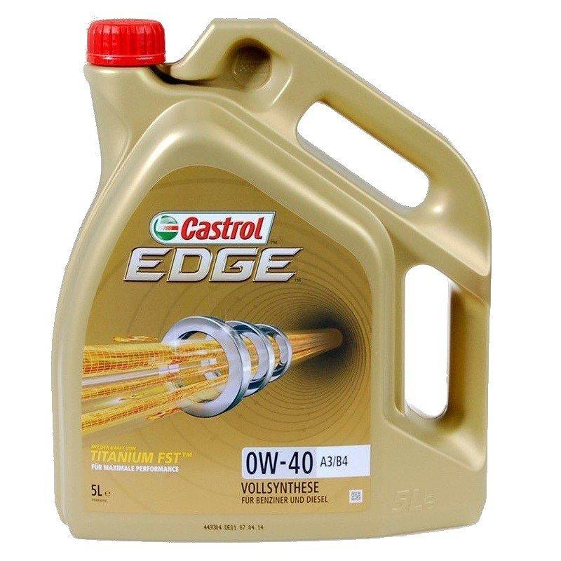 Castrol Edge 0W-40 A3/B4 Titanium FST 4L