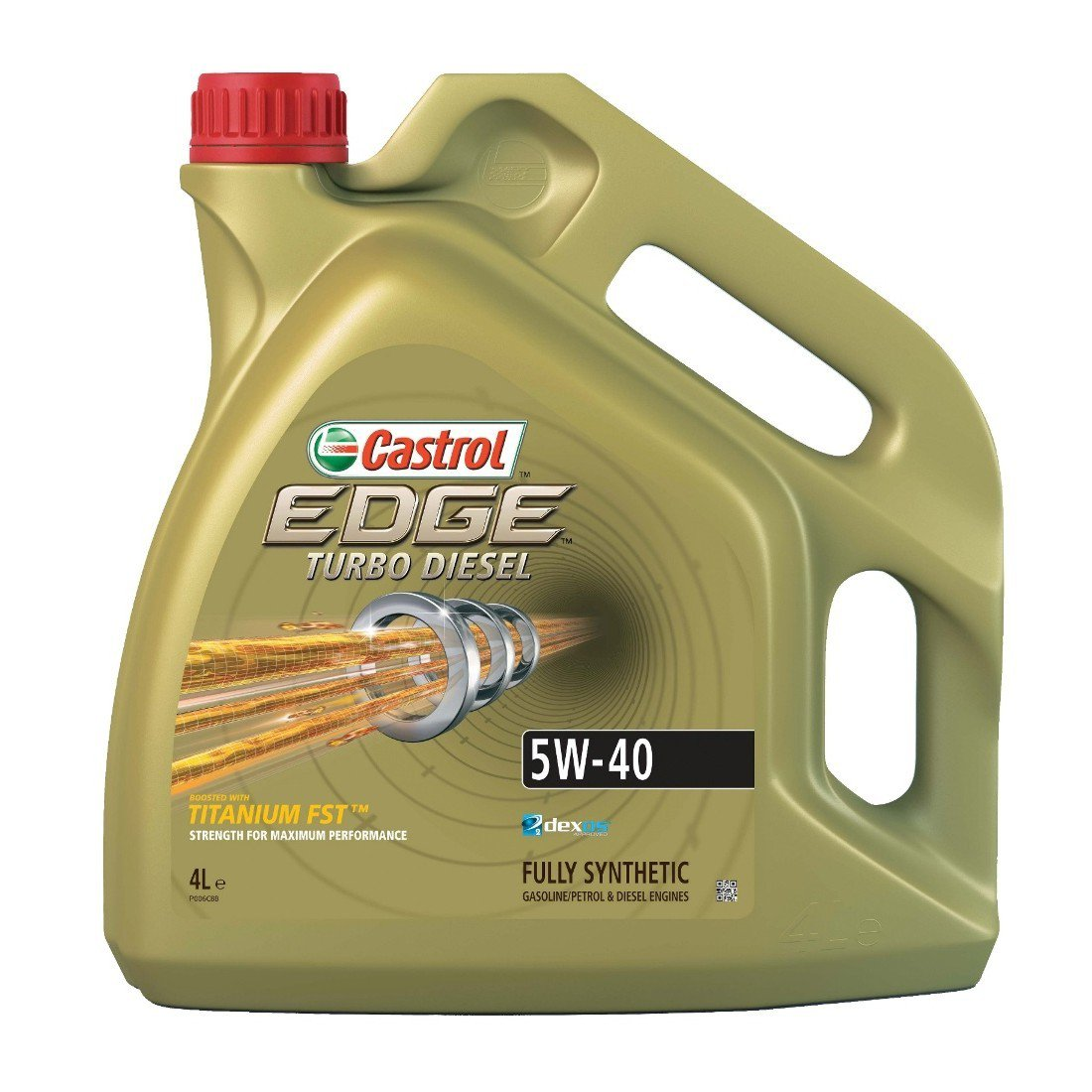 Castrol Edge Turbo Diesel 5W-40 Titanium FST 4L