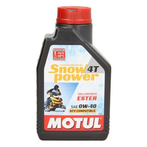Motul Snowpower 0W-40 4T, 1 l