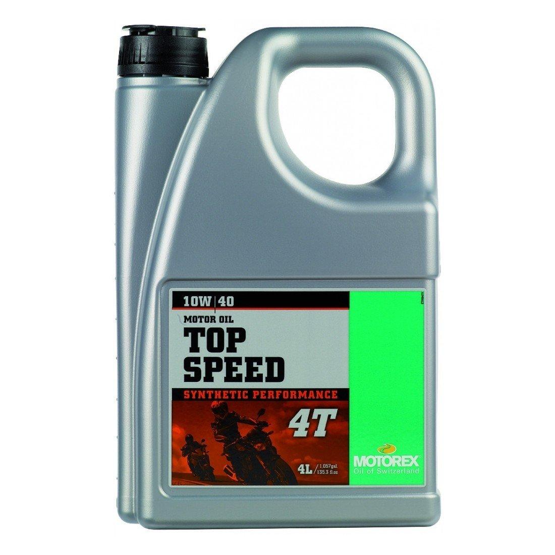 Motorex TOP Speed 4T 10W-40, 4 l