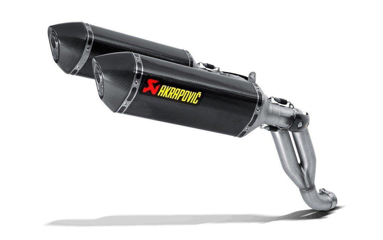 Akrapovič Slip-On Line Carbon Triumph Speed Triple 1050/R (11-15)