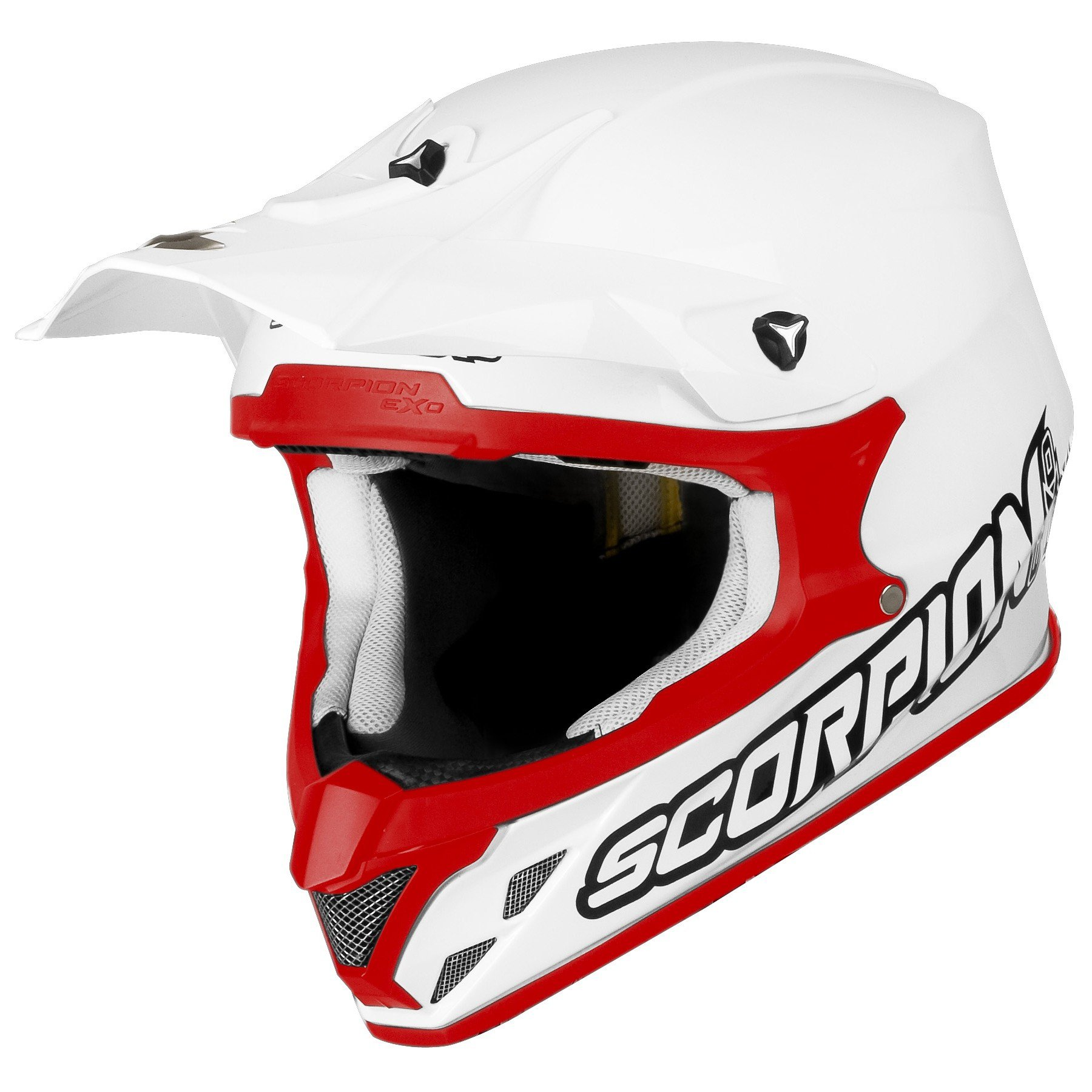 Scorpion VX 20 AIR Solid Solid VX-20 AIR White/Red S (55/56)