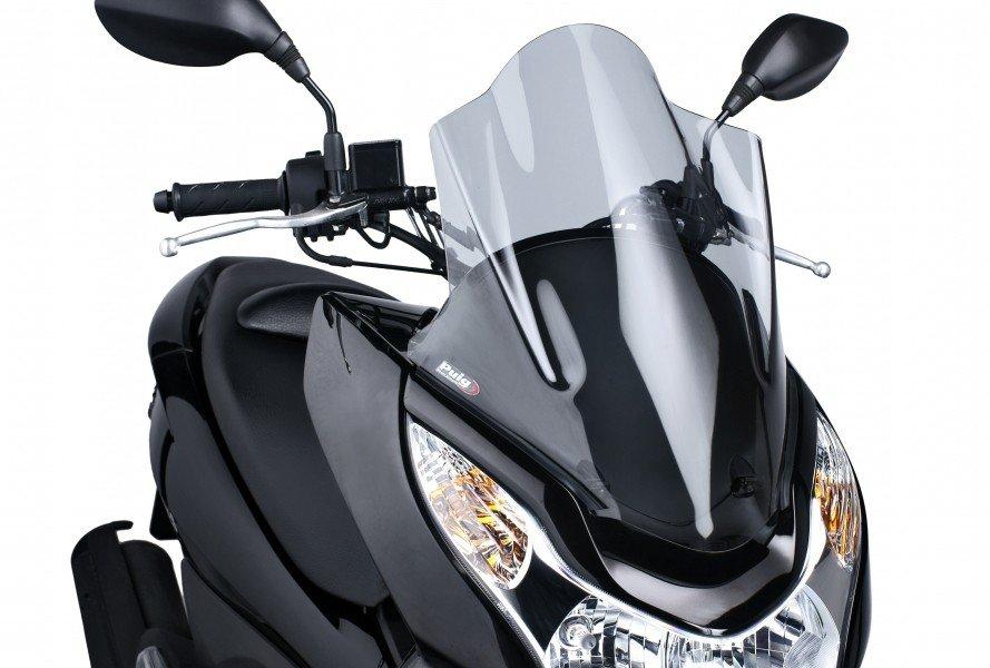 """Puig 5569 Windscreens """"V-Tech Line"""" Honda PCX 125 (10-13) Čirá (W)"""