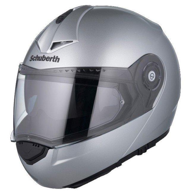 Schuberth C3 Pro Glossy Silver XS (52/53)