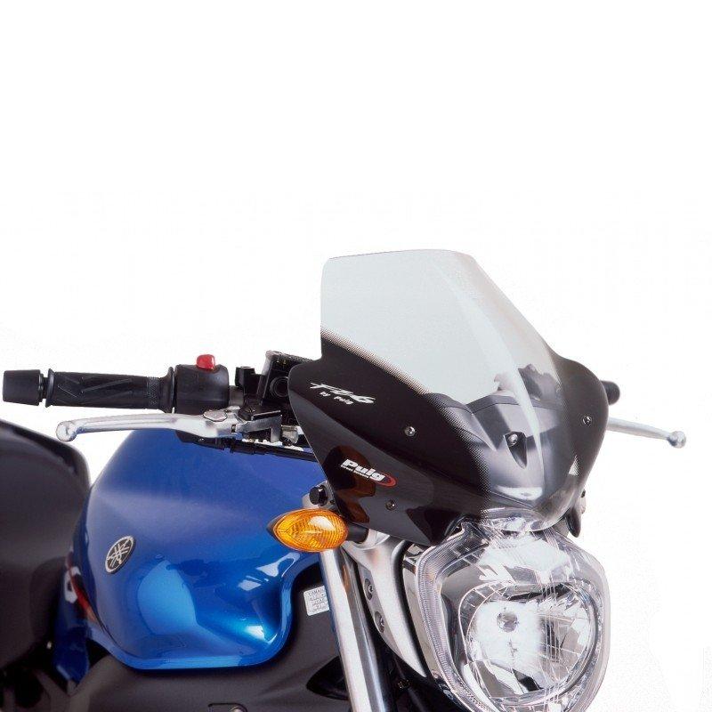 "Puig 4511 Windscreens ""Naked New Generation"" Yamaha FZ6 Fazer S2 (07-10) Čirá (W)"