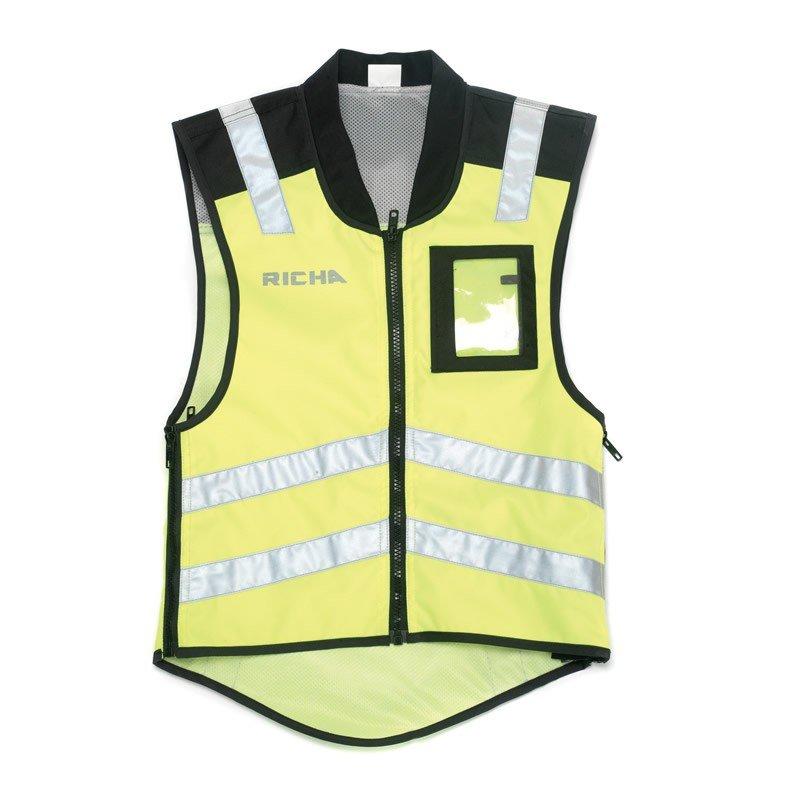 de34d7f0577 RICHA Reflexní vesta Sleeveless Safety Fluo - Motostar.cz