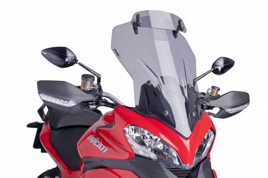 Puig 6505 Adjustable Touring Screens Ducati Multistrada 1200/S (13-14) Kouřová (H)