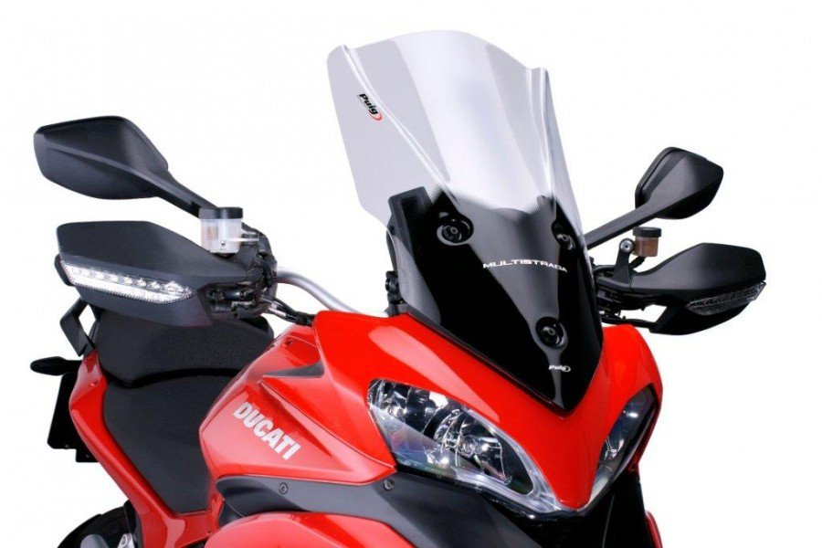 Puig 5250 Touring Screens Ducati Multistrada 1200/S (10-12) Čirá (W)