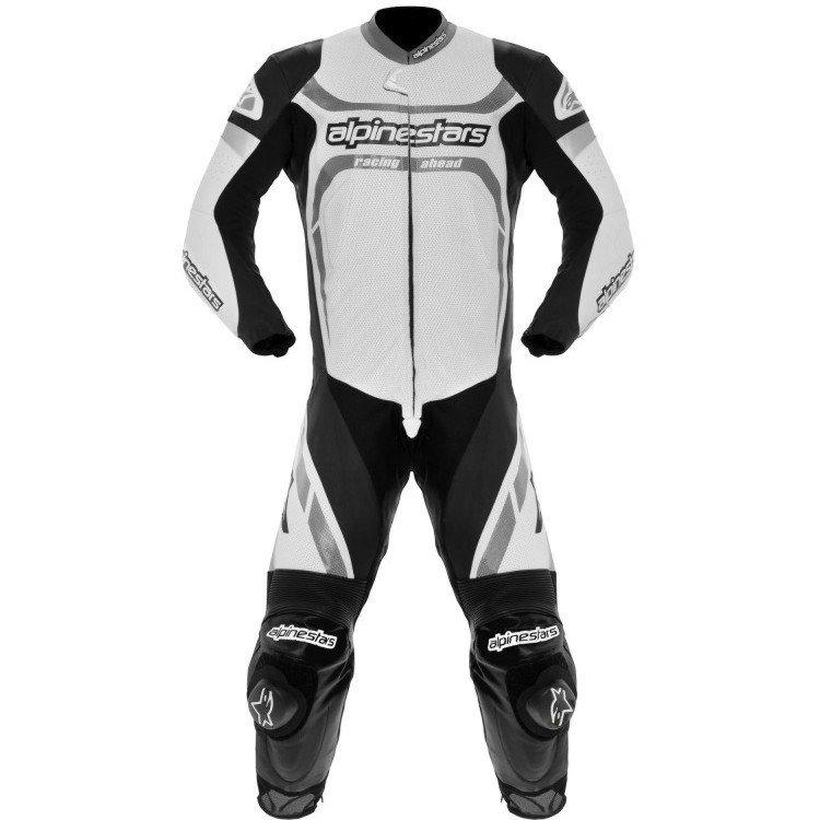 Alpinestars Motegi 1PC Black/White 52
