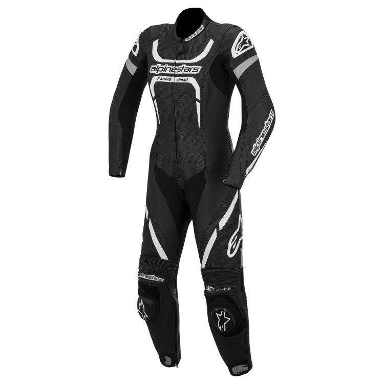 Alpinestars Stella Motegi 1PC Suit Black/White 2014 40