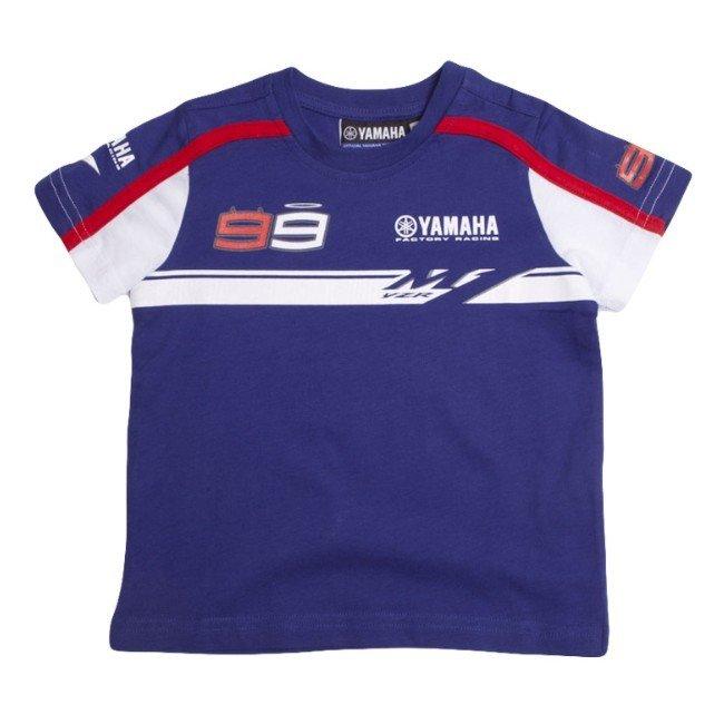 Yamaha T-shirt Kids Jorge Lorenzo 2014 Blue 3-4 roky