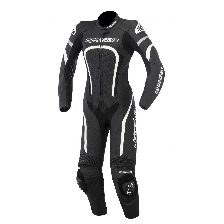 Alpinestars Stella Motegi 1PC Suit Black/White 2016 40