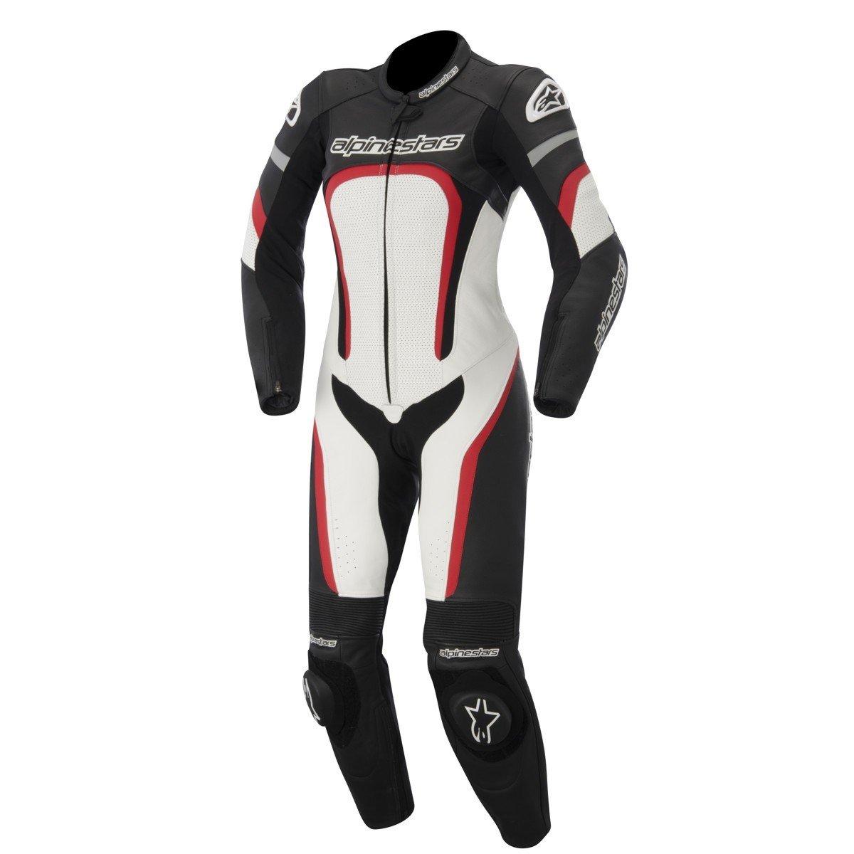 Alpinestars Stella Motegi 1PC Suit Black/White/Red 38