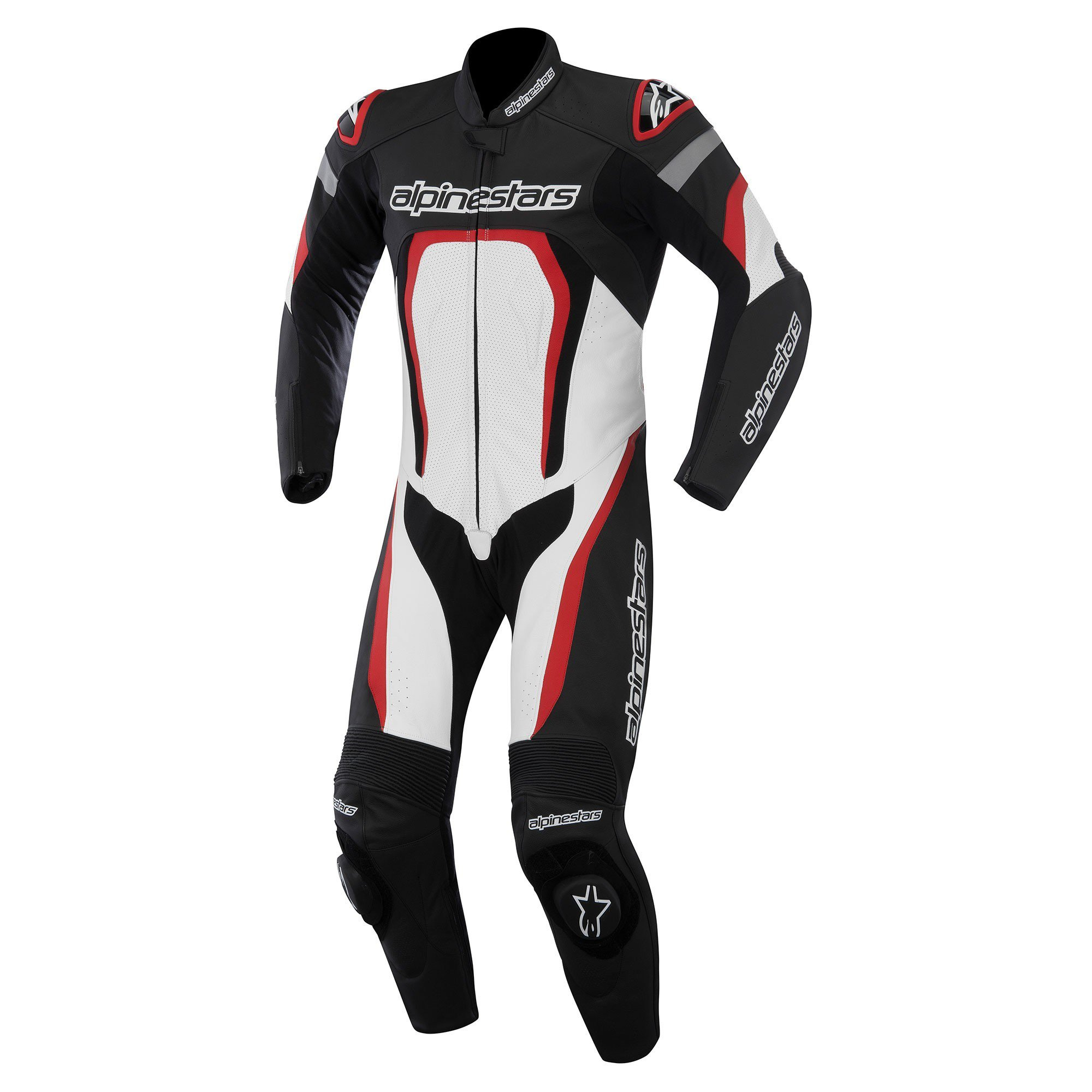 Alpinestars Motegi 1PC Suit Black/White/Red 54