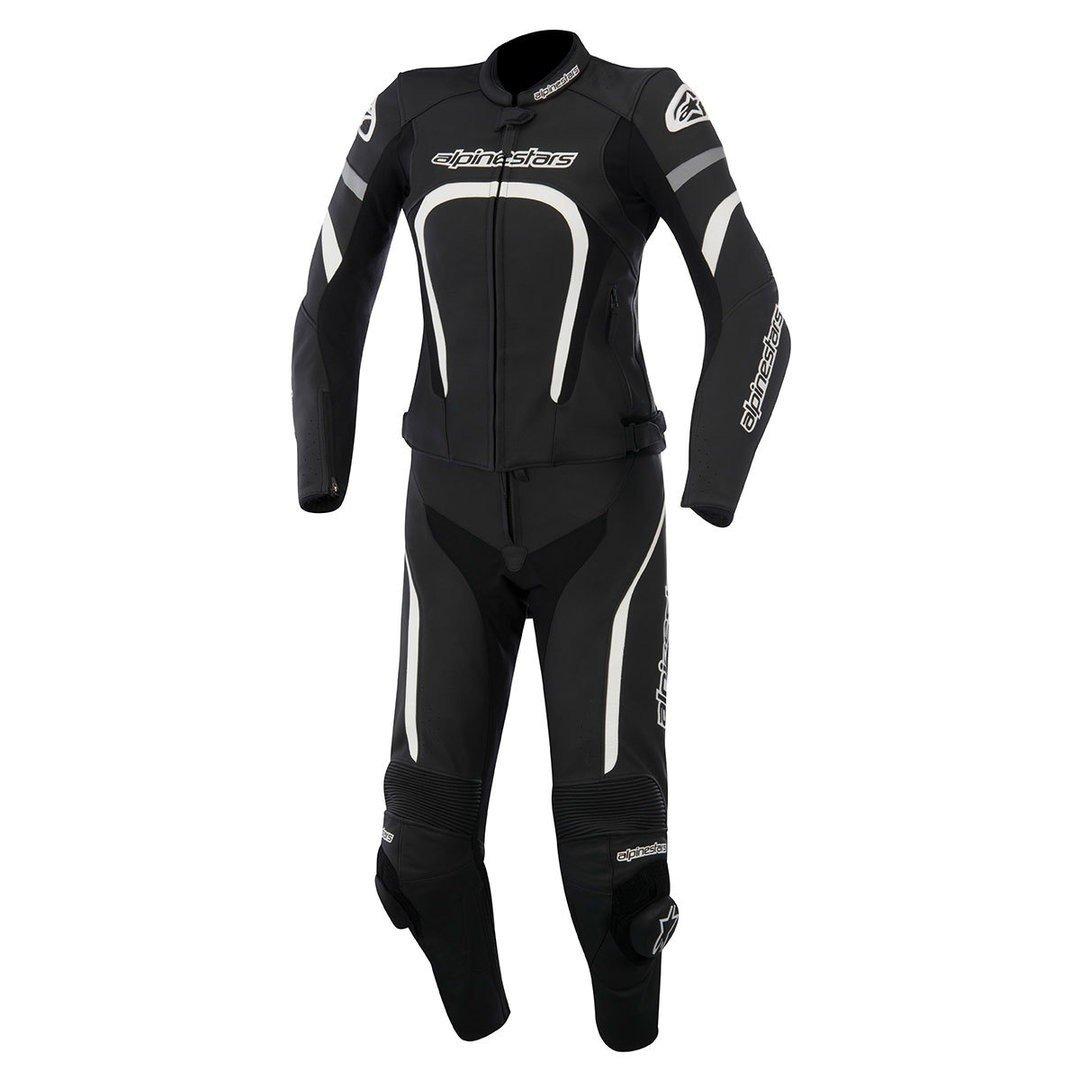 Alpinestars Stella Motegi 2PC Suit Black/White 38