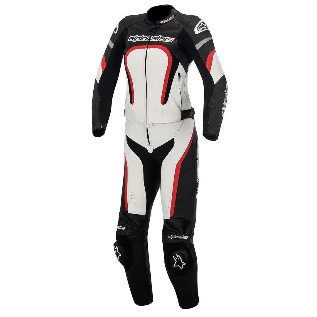 Alpinestars Stella Motegi 2PC Suit Black/White/Red 38