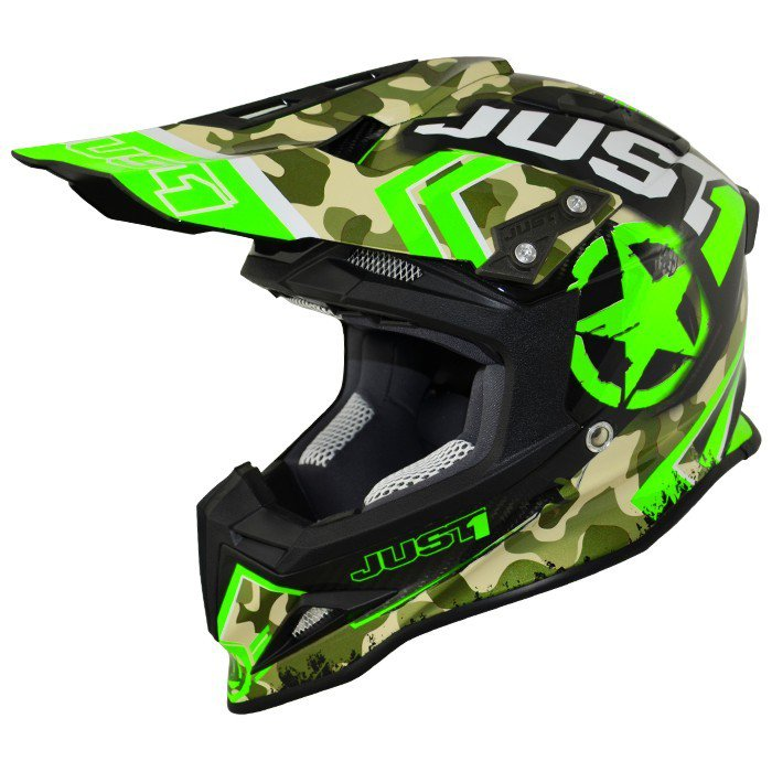 Just1 J12 Kombat Green L (59/60)
