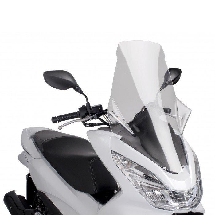"""Puig 7549 Windscreens """"V-Tech Line"""" Honda PCX 125 (14-17) Čirá (W)"""