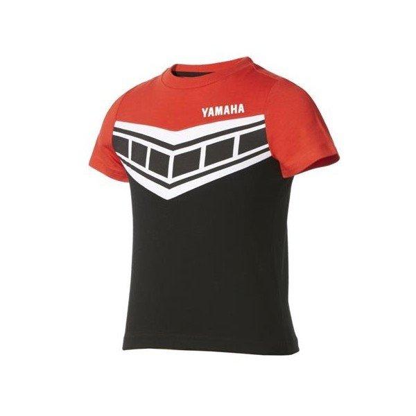 Yamaha Dětské triko Classic černo/červené 3-4 roky