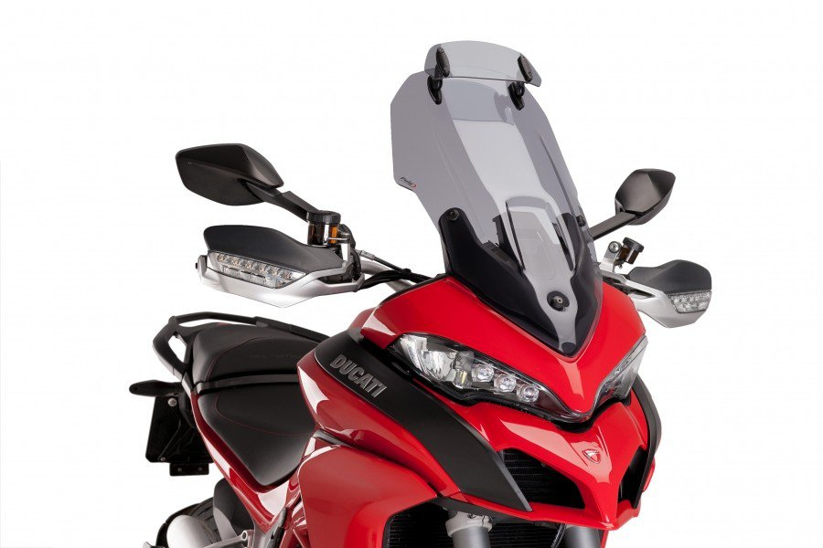 Puig 7624 Adjustable Touring Screens Ducati Multistrada 1200/1200 S (15-16) Kouřová (H)
