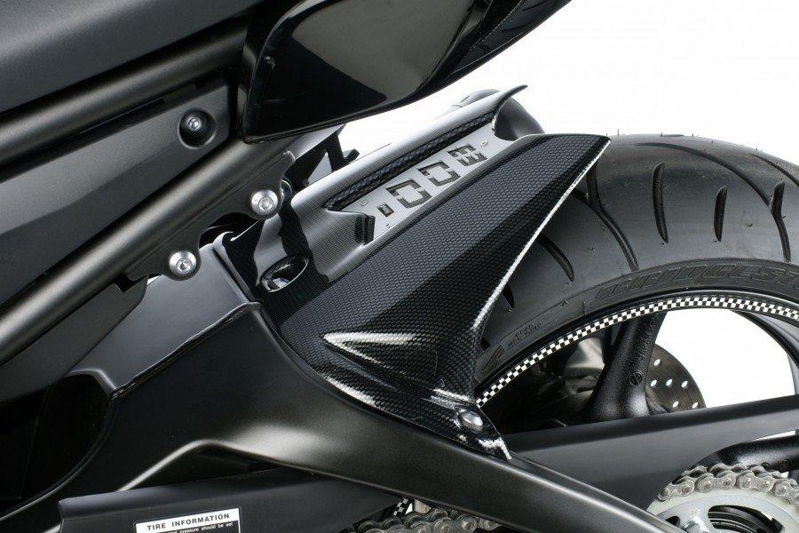 Puig 5575 Rear Fenders Yamaha FZ8/Fazer (10-15) Černá (N)