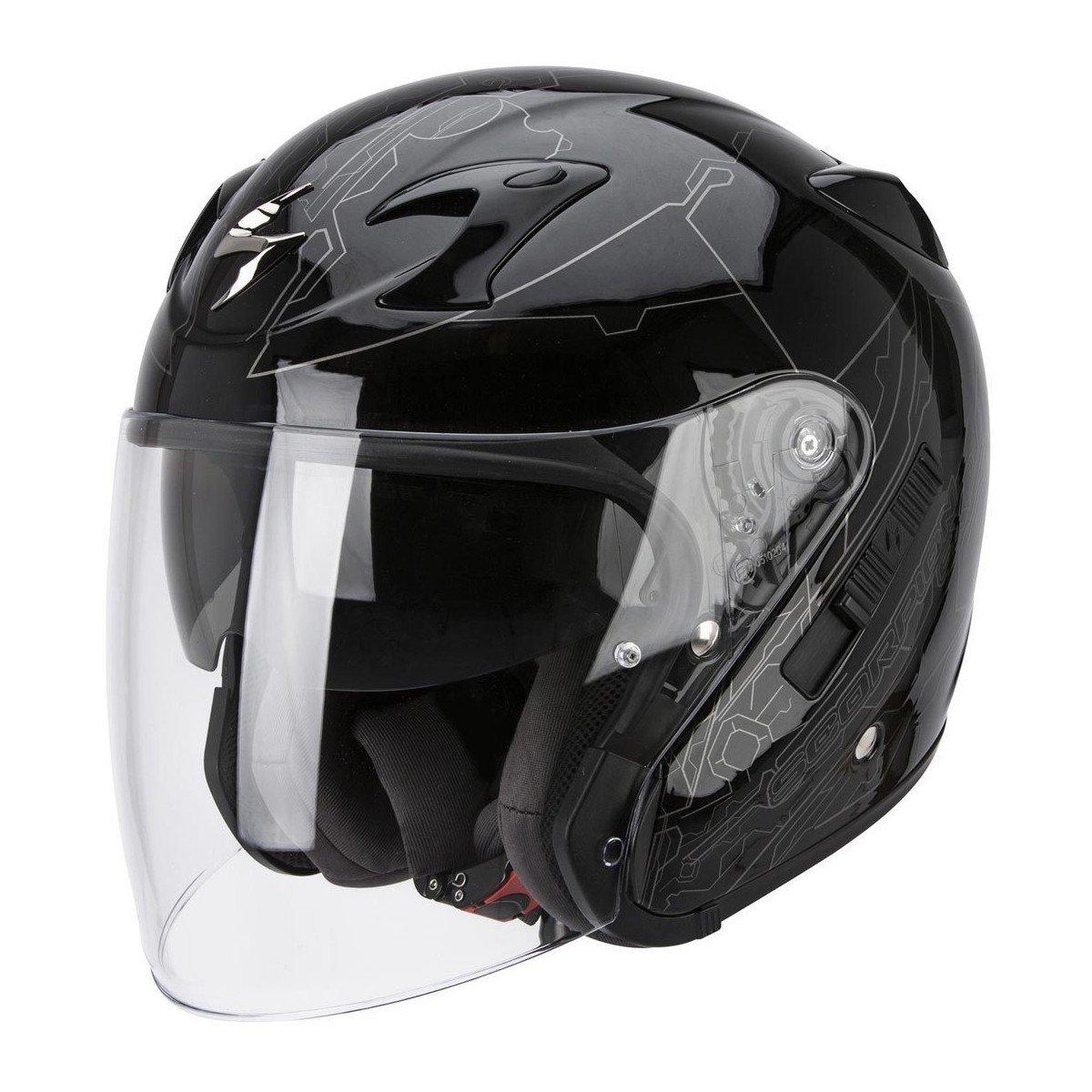 Scorpion EXO 220 Ion černá/stříbrná L (59/60)