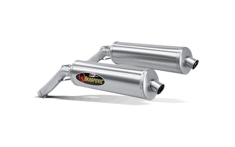 Akrapovič Slip-On Line Titanium Suzuki DL 1000 V-Strom (02-09)