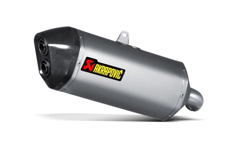 Akrapovič Slip-On Line Titanium Suzuki DL 1000 V-Strom (14-16)