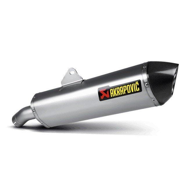 Akrapovič Slip-On Line Titanium BMW F800 GT/R (09-16)