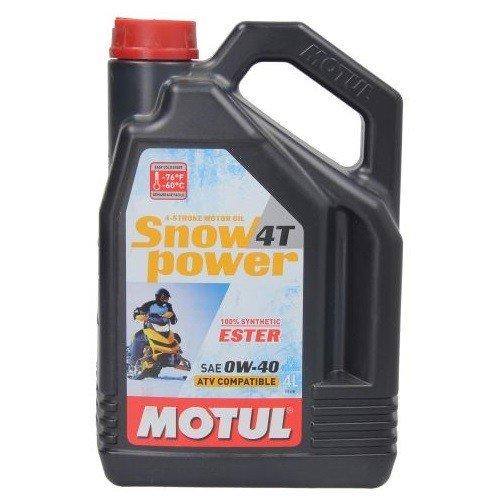 Motul SNOWPOWER 4T 0W-40, 4 l