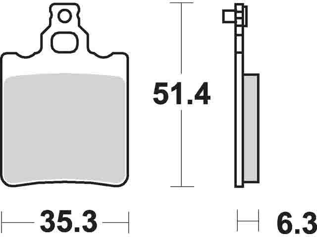 SBS 574 CS Carbon Off Road