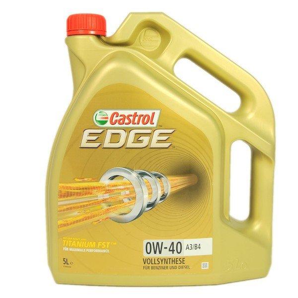 Castrol Edge 0W-40 A3/B4 Titanium FST 5L