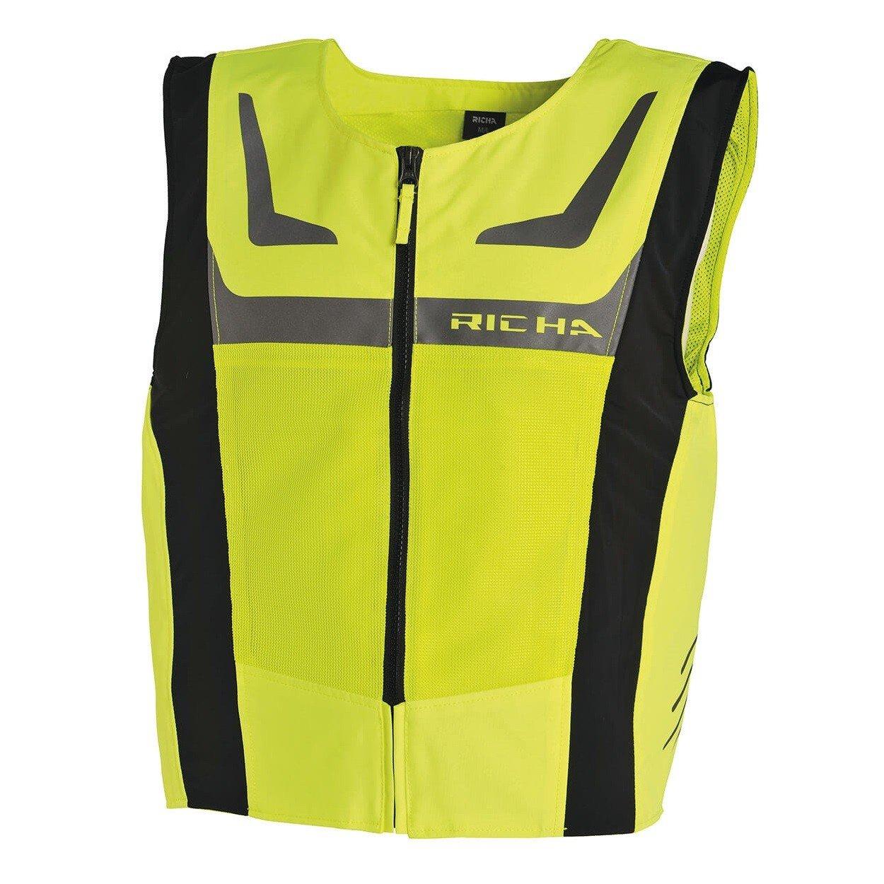 Richa Reflexní vesta Safety Mesh žlutá fluo XS/S