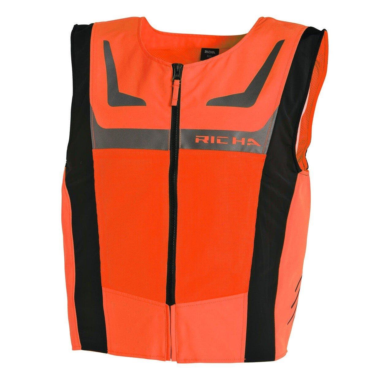 Richa Reflexní vesta Safety Mesh oranžová fluo M/L