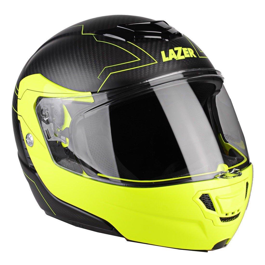 Lazer Monaco Evo Droid Pure Carbon Droid Pure Carbon/Yellow Fluo XS (53/54)