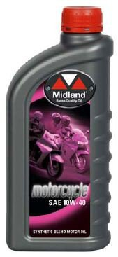 MIDLAND OIL Motorcycle 10W40 1L