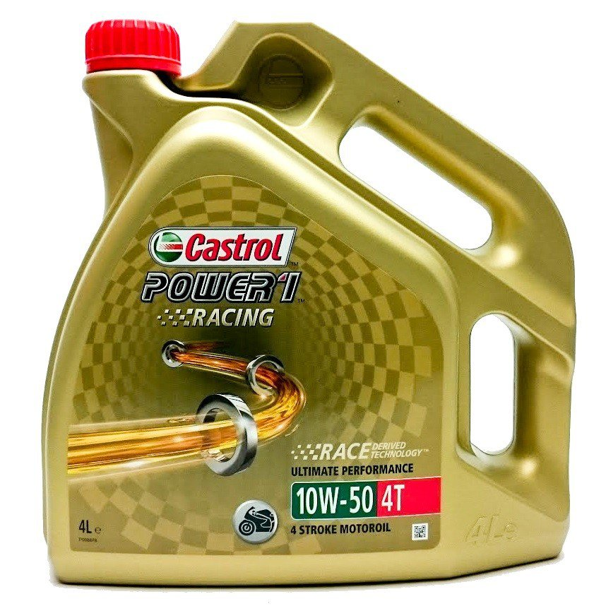 Castrol POWER 1 Racing 4T 10W-50, 4 l