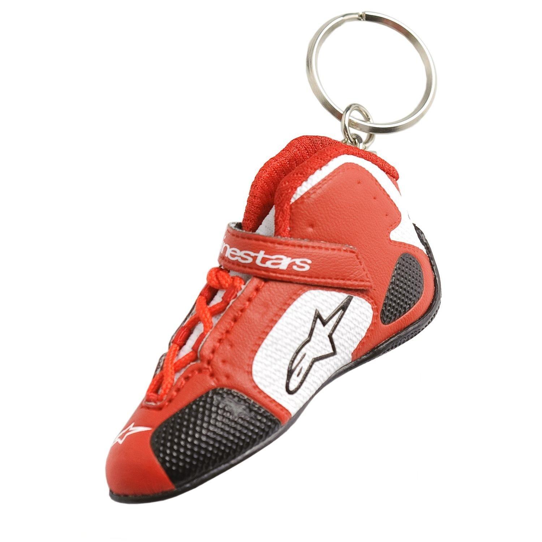 Přívěsek na klíče Originální ve tvaru boty ALPINESTARS Tech 1-K Boot (červená)