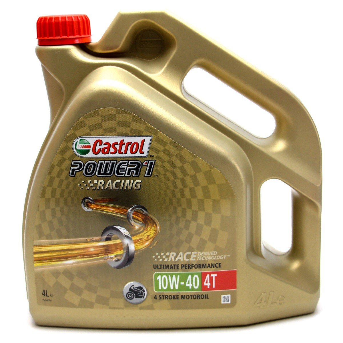 Castrol Power 1 Racing 4T 10W-40, 4 l