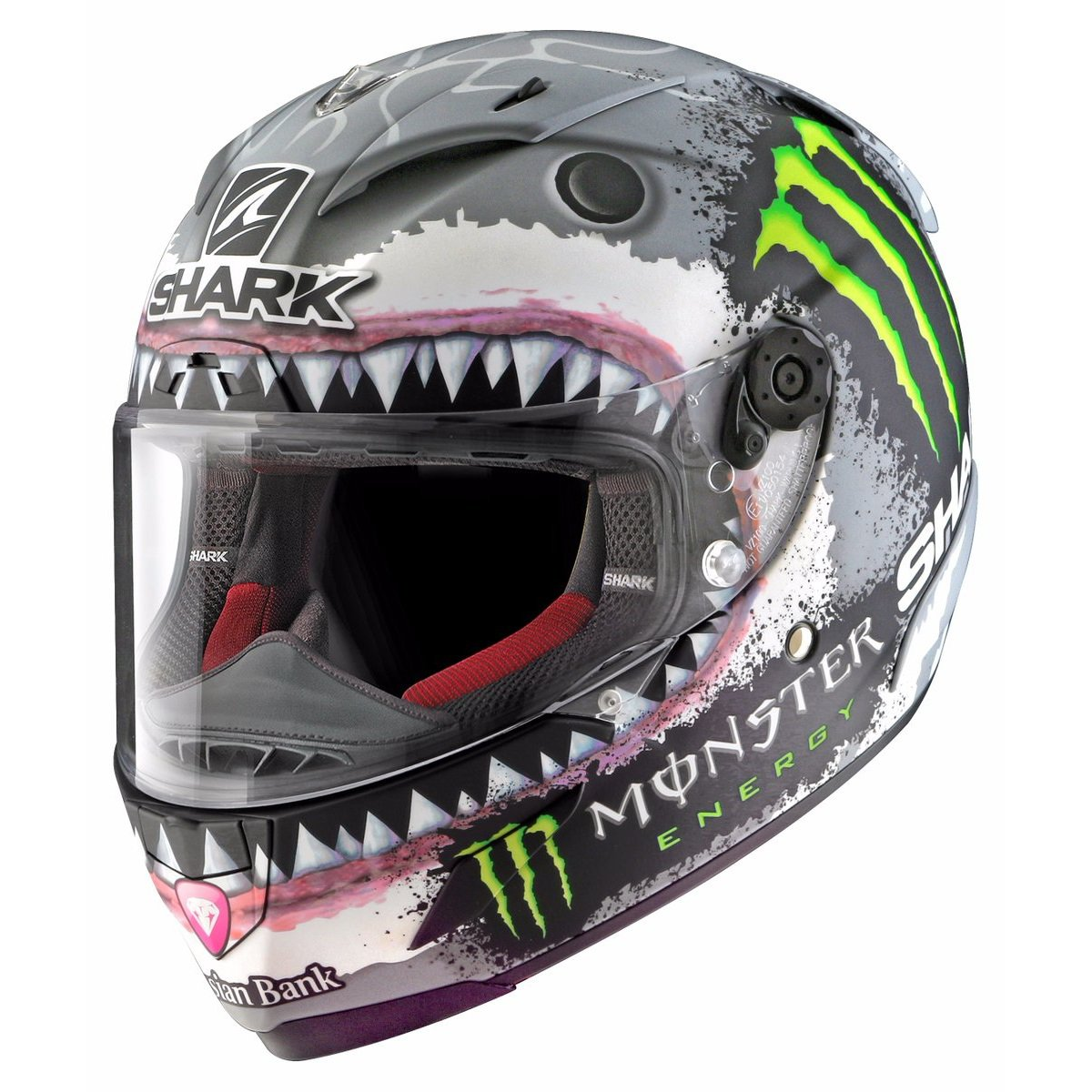 Shark Race-R PRO Replica Lorenzo Mat SWG S (55/56)
