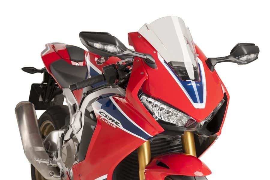 Puig 9407 Větrný štít RACING Honda CBR 1000 RR Fireblade (17) Červená (R)