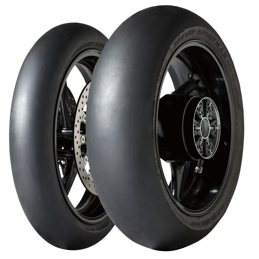 Dunlop D211 Sportmax GP Racer SLICK Medium 190/55 R17