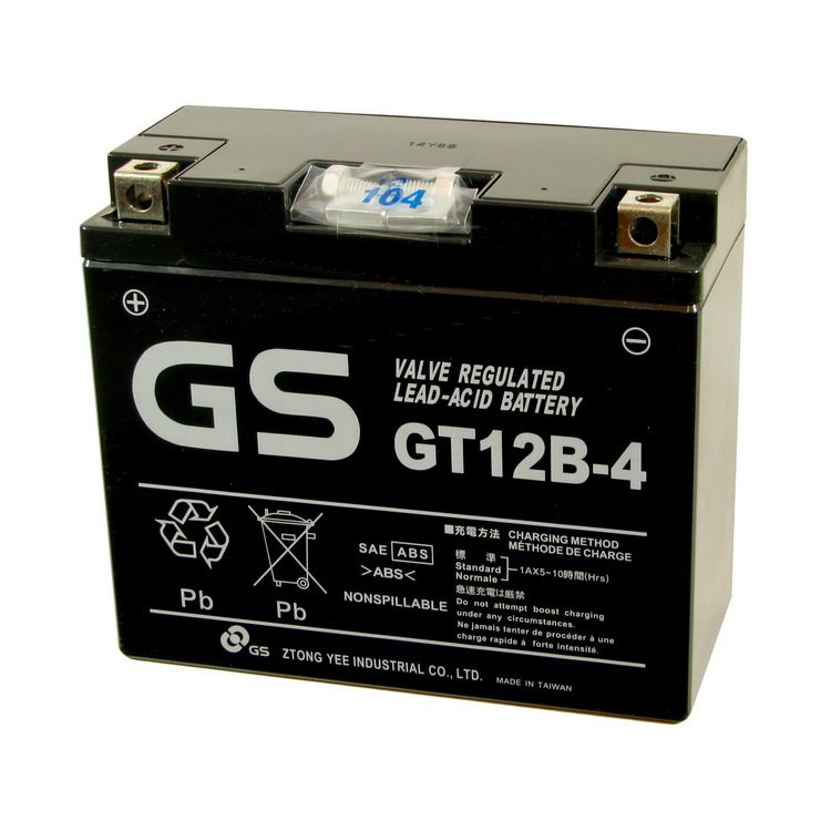 Yuasa / Toplite GT12B-4
