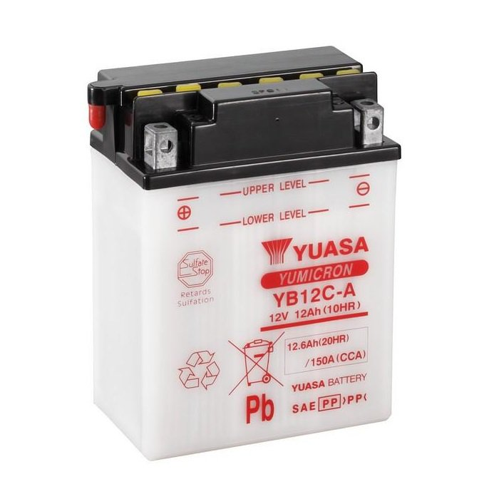 Yuasa / Toplite YB12C-A