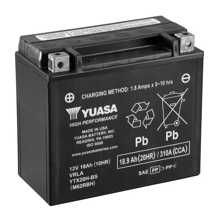 Yuasa / Toplite YTX20H-BS