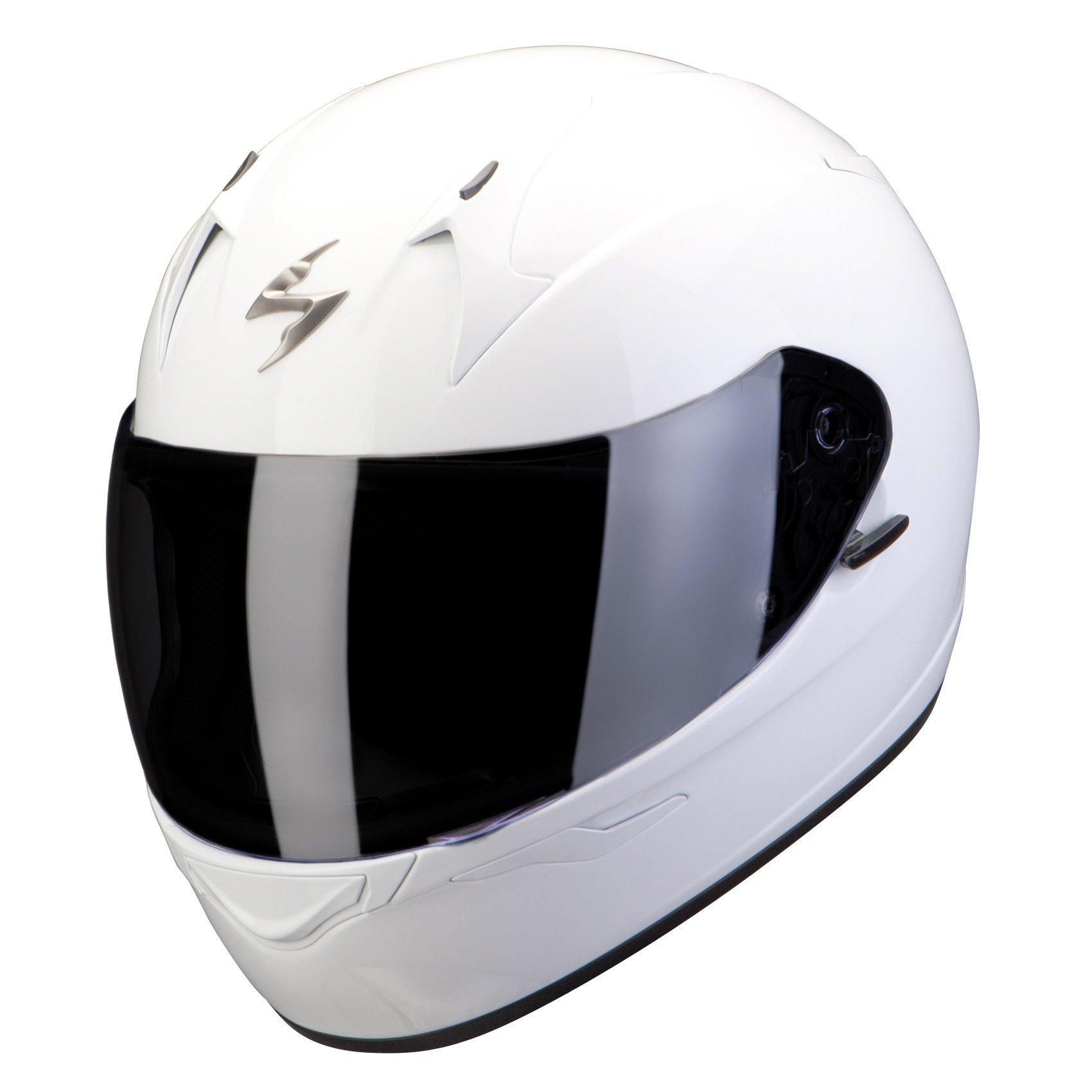 Scorpion EXO 390 Solid bílá L (59/60)